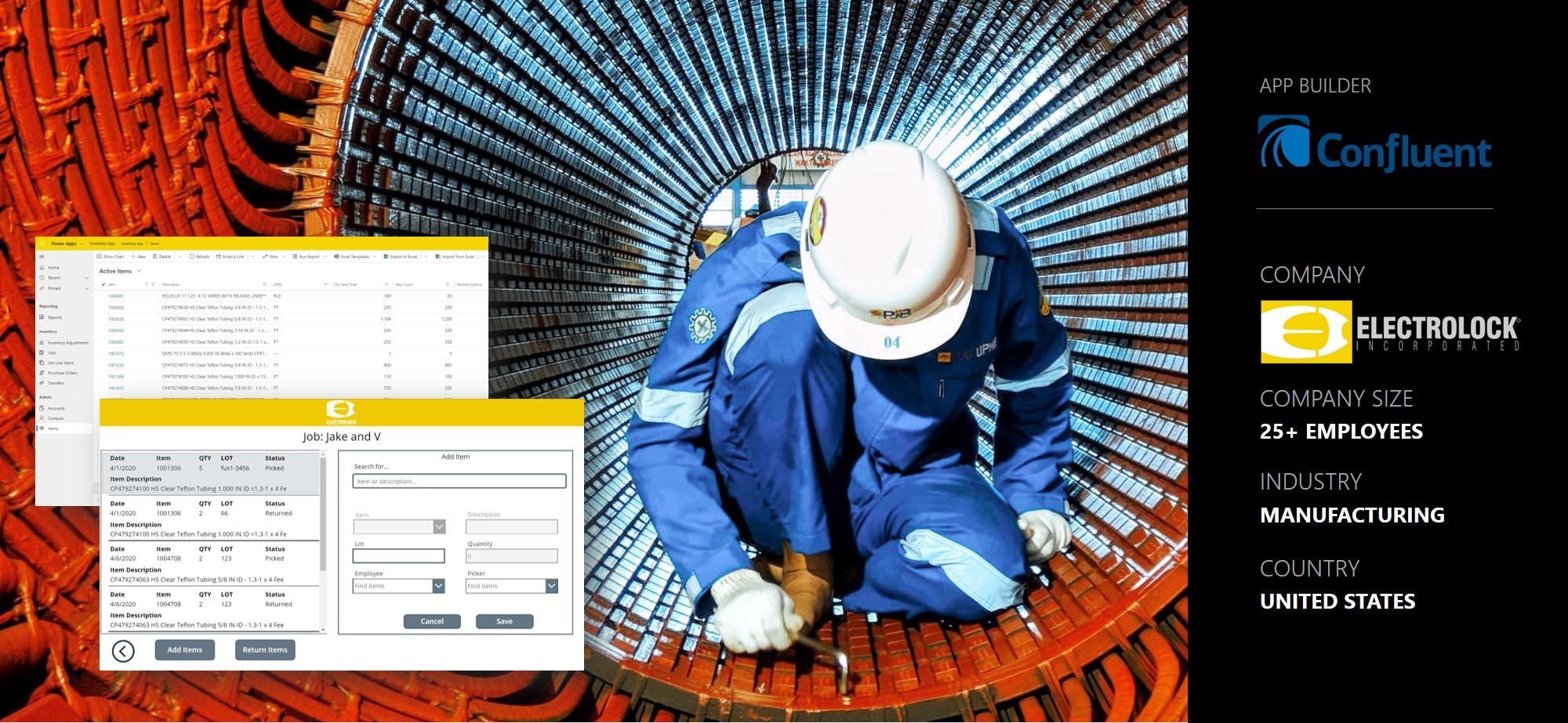 Electrolock ERP Management Application